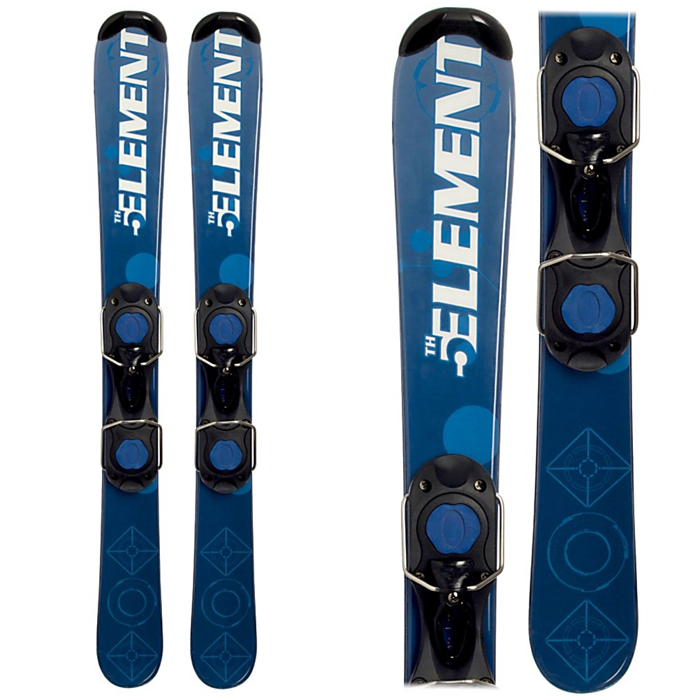 Ski 5th Element LK Pro Ski Boards - Looking for something a little different in your skiing adventure? Try the 5th Element LK Pro Ski Boards. These skis are just like a full length ski but smaller. Maneuverable and perfect whether you're a beginner skier who would prefer a little extra space so your skis don't cross or want to try something new, these ski boards are fun and can be taken anywhere you want to go. From the blue-square groomed trails to moguls, even in the park and the halfpipe, this wood core design will provide stability and give you a stellar edge grip. Adjustable with a non-releasable binding, the 5th Element LK Pro Ski Boards are the coolest new way to experience the slopes when the snow begins to fall. Features: Adjustable up to 355mm boot sole, Easy Clip on Leash. Snowblades: Yes, Skill Range: Intermediate - Advanced, Model Year: 2012, Product ID: 202104 - $99.95