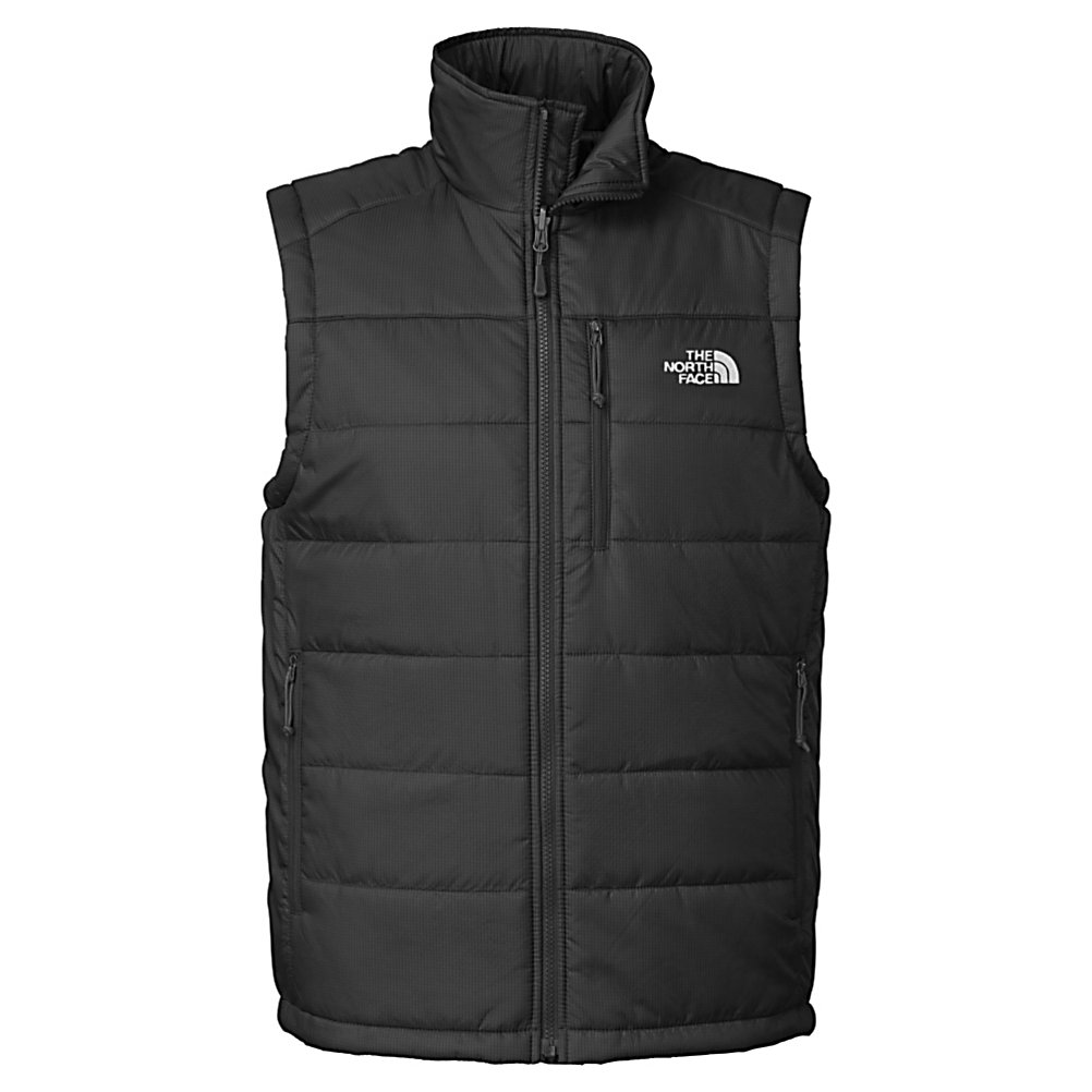 Ski The North Face Redpoint Mens Vest - For a classic layering piece that will also suit your fancy on its own pick up The North Face Redpoint Vest. This vest is insulated with 133 grams of PrimaLoft Eco insulation that will keep you warm on those early fall days and will add to the warmth of your zip-in compatible The North Face Jacket during those bone chilling cold days. The North Face Redpoint Vest features two zip hand pockets and a napoleon chest pocket that allows you to store small items like your keys, cell, wallet and MP3 player. . Insulation Weight: 133g, Material: 100% Nylon, Fleece Weight: Light, Category: Light-Weight, Hood: No, Warranty: Lifetime, Battery Heated: No, Type: Full Zip Top, Wind Protection: Yes, Type: Vests, Material: Synthetic, Pockets: 1-2, Wicking Properties: No, Water Resistant: No, Model Year: 2013, Product ID: 282178, Shipping Restriction: This item is not available for shipment outside of the United States. - $99.00