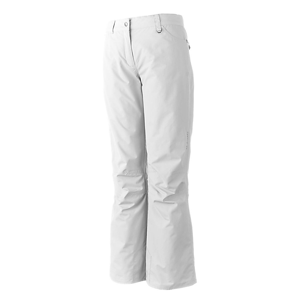 Ski Obermeyer Sundance Short Womens Ski Pants - Warm, comfortable and cute, the Obermeyer Sundance Ski Pants offers soft Permaloft Needlepunch Insulation to keep your days on the slopes as comfy as possible. The lightweight insulation is water-resistant and adjusts to the body's position. HydroBlock on the fabric ensures that these Sundance pants are both waterproof and breathable so you can stay dry and warm even when the weather outside is chilly and snowy. The Jean-style offers a modern look whole retaining all the features of a quality snow pant you need when you're on the mountain. Features: Zip Front Fly, Ski Pass D-Ring. Exterior Material: Nylon with HydroBlock V, Softshell: No, Insulation Weight: 60 Grams, Taped Seams: Critically Taped, Waterproof Rating: 5,000mm, Breathability Rating: 5,000g, Thigh Zip Venting: No, Suspenders: None, Articulated Knee: Yes, Low Rise: No, Warranty: Lifetime, Race: No, Waterproof: Moderately Waterproof (5000mm-19,999mm), Breathability: Moderate Breathability (4000g-8999g), Use: Ski, Type: Insulated, Cut: Regular, Lining Material: Permaloft Needlepunch, Waist: Beltloops, Pockets: 3-4, Model Year: 2012, Product ID: 235476 - $64.99