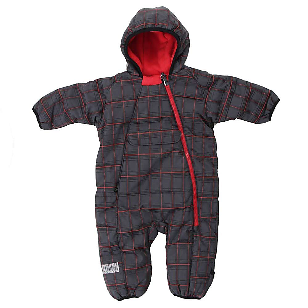Ski Obermeyer Rodeo Bunting Toddler Ski Jacket - The Obermeyer Rodeo Bunting Toddler Ski Jacket will bundle your little guy up in cozy warmth. This reversible bunting is built for babies with lots of warm insulation protection from moisture a construction that offers a full range of motion and a full length zipper for easy access. The fabric is treated with HydroBlock to resist moisture. The Rodeo Bunting reverses to microfleece that offers great softness and the attached hood is lined with fleece for extra warmth. The Rodeo panel construction allows for full range of leg motion and complete comfort. . Exterior Material: Polyester, Taped Seams: Critically Taped, Hood Type: Fixed, Hood: Yes, Warranty: Lifetime, Use: Outdoor, Battery Heated: No, Race: No, Type: Insulated, Cut: Regular, Length: Long, Insulation Type: Synthetic, Cuff Type: Elastic, Wrist Gaiter: No, Waterproof Zippers: No, Insulator: No, Model Year: 2011, Product ID: 299291 - $39.92