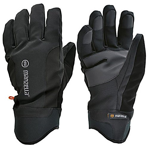 Ski Manzella Get Intense Ski Gloves - Manzella is getting aggressive this winter with the Get Intense mens winter gloves. The Get Intense gloves feature full-on functionality with complete next-to-skin dexterity. A highly breathable hydrophobic lining will keep your hands warm and dry in brisk conditions. The comfortable two layer stretch soft shell is water and wind resistant but also boasts a palm and fingertip pad that is highly abrasion resistant as well which offers exceptional fluency. Generously insulated with 100 grams of synthetic down, the Get Intense gloves provides ample warmth needed for activities in variable conditions and a pliable neoprene cuff, so you are virtually guaranteed all weather dynamic protection in a sleek and clever package. Get fanatical about winter with the Manzella Get Intense mens gloves. Features: Performs Best for Outdoor Activities in Variable Conditions. Removable Liner: No, Material: 2-Layer Stretch Softshell, Warranty: Other, Battery Heated: No, Race: No, Type: Glove, Use: Ski/Snowboard, Wristguards: No, Outer Material: Softshell, Waterproof: No, Breathable: No, Pipe Glove: No, Cuff Style: Under the cuff, Down Filled: Yes, Model Year: 2013, Product ID: 205631 - $34.99