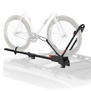 Snowboard Yakima Frontloader Bike Rack - The Yakima Frontloader has a universal design to fit a wide variety of crossbars - including aerodynamic factory bars - making it the most versatile upright bike mount ever. With such easy feature this rack goes right from the box, to your roof, to the road. Fits a wide variety of bikes with 20 to 29 inch wheels, disc brakes, thru axles, and funky suspension designs. Super security locks the rack to your crossbar and locks your bike to the rack (2 SKS lock cores sold separately) . Mount Type: Roof, Bike Capacity: 1, Fork Mount: No, Model Year: 2013, Product ID: 188106, Shipping Exclusion: This item is only available for shipment by UPS to the lower 48 United States. APO, FPO, PO BOX, Hawaii, and Alaska shipments may not be possible for this item. (Please call prior to purchase.), Special Order: This is a Special Order item, will be shipped from the manufacturer, and is not stocked in our warehouse. This item does not qualify for our Price Matching Policy. Order processing time may vary. - $161.10