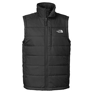 Snowboard The North Face Redpoint Mens Vest - For a classic layering piece that will also suit your fancy on its own pick up The North Face Redpoint Vest. This vest is insulated with 133 grams of PrimaLoft Eco insulation that will keep you warm on those early fall days and will add to the warmth of your zip-in compatible The North Face Jacket during those bone chilling cold days. The North Face Redpoint Vest features two zip hand pockets and a napoleon chest pocket that allows you to store small items like your keys, cell, wallet and MP3 player. . Insulation Weight: 133g, Material: 100% Nylon, Fleece Weight: Light, Category: Light-Weight, Hood: No, Warranty: Lifetime, Battery Heated: No, Type: Full Zip Top, Wind Protection: Yes, Type: Vests, Material: Synthetic, Pockets: 1-2, Wicking Properties: No, Water Resistant: No, Model Year: 2013, Product ID: 282178, Shipping Restriction: This item is not available for shipment outside of the United States. - $99.00