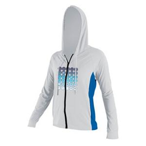 Snowboard O'Neill 24-7 Tech Long Sleeve Zip Womens Hoodie - Spending the day in the sun can drain your body. With that in mind pick up the O'Neill 24-7 Tech Long Sleeve Hoodie. This hoodie offers you UPF 30 protection that will keep you protected from the sun's harmful UV rays. This nylon/spandex hoodie gives you a relaxed fit for maximum cooling and comfort and its quick dry abilities are an added bonus. Best of all may be the Skin Cancer Foundation recommends this product as an effective UV protectant from the sun's harmful rays. Features: Recommended by the Skin Cancer Foundation for effective UV protection. Hood Type: Fixed, Material: Nylon, Spandex, Category: Light-Weight, Hood: Yes, Warranty: One Year, Type: Full Zip Top, Type: Hoodies, Weatherproof: Yes, Material: Synthetic, Type: Long Sleeve, Model Year: 2012, Product ID: 260959, Shipping Restriction: This item is not available for shipment outside of the United States. - $44.98