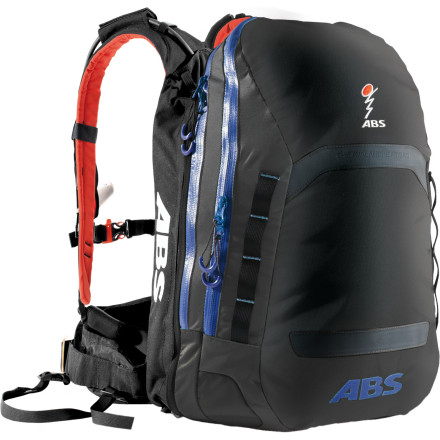 Camp and Hike The bigger you go, the bigger the risks; just ask champion freerider Xavier LaRue, who survived a massive avalanche with the help of his ABS Avalanche Rescue Devices pack. While you may not be tackling the massive lines that Xavier does, you can rely on the same protection from the Powder Line 15 Backpack. This compact system quickly inflates two large airbags that help you to stay on top of a slide, vastly improving your chances of survival. When the snow comes to a stop, you're either able to extricate yourself or you're very easy for rescuers to spot and retrieve. - $749.96
