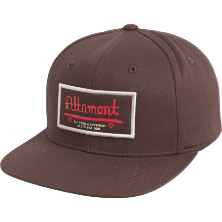 Plop the Altamont Century Snapback Hat on your dome, do an Irish jig, and jump into a bush. Congratulations, you'll now have the most viewed video on FaceSpace for the next twelve seconds! Snap-back adjustability means you and a buddy can swap this hat between your fat noggins without too much trouble. - $13.98