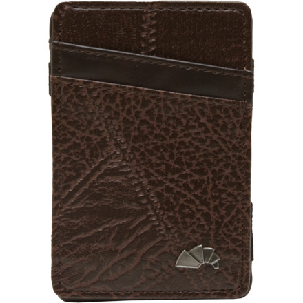 Entertainment Coupons, IOU's, and hard candy only weigh you down. Organize your essential cards and bills into the Armourdillo Storm Leather Flip Wallet and free yourself of the back-jacking pocket clutter. - $11.21