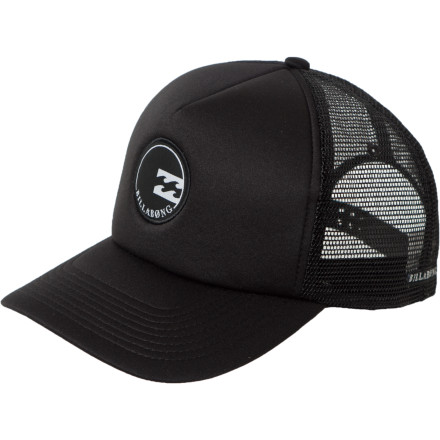 Surf Even though the sharks patrol the break before sunrise, you still slip on the Billabong Dawn Patrol Trucker Hat and drive out to the beach. - $15.37