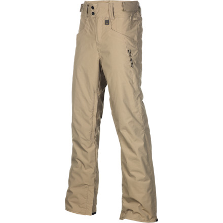 Snowboard The Billabong Women's Crushy Pant is definitely worth crushing over. From the infatuation-worthy style of the skinny fit to the cozy warmth of 40g insulation, it's kind of hard not to. - $95.96