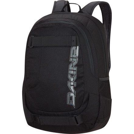 Camp and Hike Head to school early to skate a couple spots near campus before class, then strap your deck up to the Dakine Option Backpack before heading inside. Once inside, whip your computer out of the padded laptop sleeve and get to learnin'. - $49.95