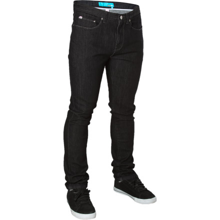 Fear not, animal-rights activists. The Enjoi Panda Slim Denim Pants contain no pandas or panda by-products. No, they're actually made from a mixture of baby seal tears and orphans' shattered dreams. - $59.95