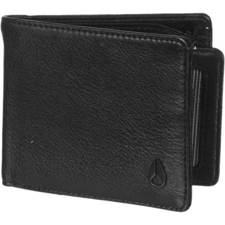 Entertainment Sometimes you want a low-profile wallet that'll just carry your ID and credit cards, and sometimes you need to bring cash and a full card holster. Thanks to a removable, slim wallet, the Nixon Pass Bi-Fold ID Wallet handles both situations. The removable wallet slips into one of the sides of the Pass Bi-Fold ID Wallet, so you can bring both, just the removable wallet, or just the Pass Bi-Fold wallet. - $25.46