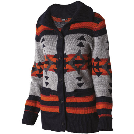 Settle in for a night of movie watching, popcorn, and good company with the Nixon Women's Artisan Sweater. - $74.95