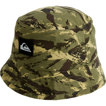 Surf Keep the sun out of your boy's face with the Quiksilver Toddler Boys' Grommet Hat, so he can turn a hole and pile of sand into a triple-walled castle with towers and battlements. Let his imagination blossom into a half-dilapidated, half-awesome structure that you could settle down in. - $24.00