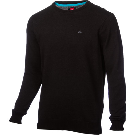 Surf When the ladies take a gander at the Quiksilver Men's Ganser Sweater, they begin to question the prevailing opinion about you. How could a dirtbag pull off wearing such a slick, classy sweater - $46.75