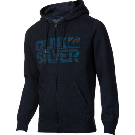 Surf Quiksilver Blackpot Full-Zip Hoodie - Men's - $34.65