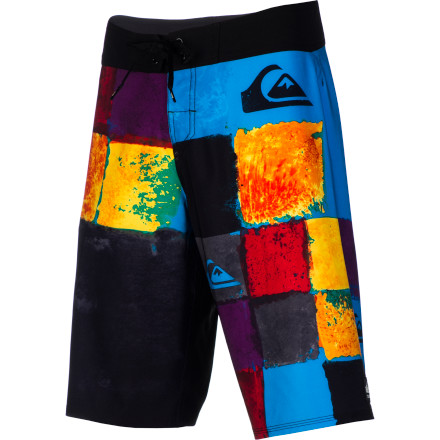 Surf If you were the kind of kid who preferred scribbling over the page rather than staying neatly within the lines, you'll love the Quiksilver Plasma Board Short's free-form color-block pattern. Not to mention the  ridiculously comfy four-way stretch fabric and irritation-proof fly. - $49.60