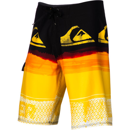 Surf The Quiksilver YG Repeater Board Short is totally awesome. Once again, the Quiksilver YG Repeater Board Short is totally awesome. (See what we did there) - $53.55