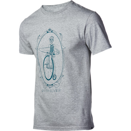 Surf Quiksilver Lolly Gag Slim T-Shirt - Short-Sleeve - Men's - $18.40