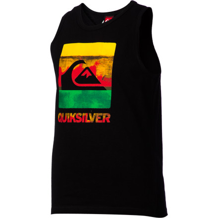 Surf Quiksilver Chaos Tank Top - Little Boys' - $11.20