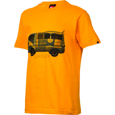 Surf Quiksilver Vantasy T-Shirt - Short-Sleeve - Boys' - $13.50