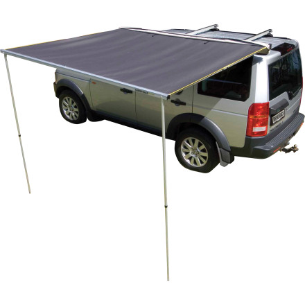 Attach the Rhino Rack Sunseeker Side Awning to your current roof-rack system, roll it out of its secure PVC bag, and protect you and your family from the sun in a jiffy. - $369.00