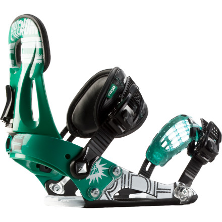 Snowboard You're not getting older (well, OK, you are), it's just that the kids doing insane tricks are indeed getting younger and younger. These hard-charging groms rely on the Ride Boys' Phenom Snowboard Binding for freestyle performance that rivals that of your own. - $77.97