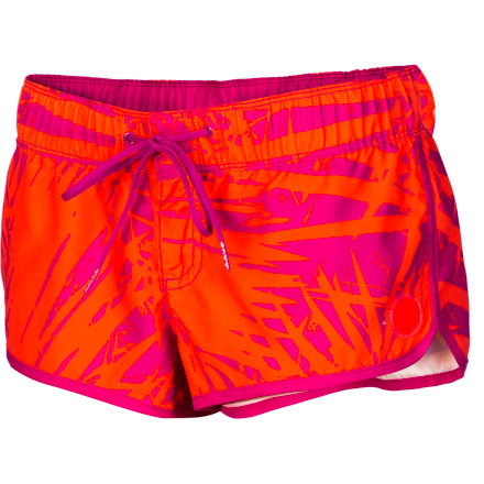 Surf Whether you forgot your surf board key or need some wax for your board, toss on the Roxy Women's Spring Bliss Board Short and head to your local surf shop for the goods. - $35.20