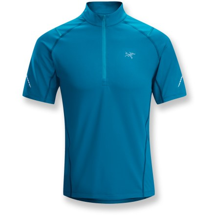 Fitness The quality of the Arc'teryx Accelerator Zip-Neck is unmistakable: You'll see it every time you head out for your cool-weather workouts. - $41.83