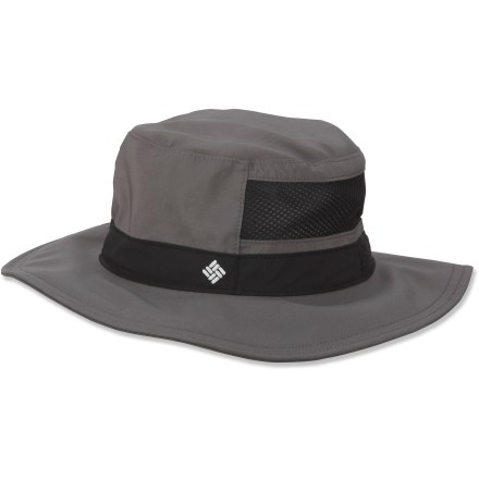 The Columbia Bora Bora(TM) Jr. Booney II hat dries in a flash, making it great for warm-weather activities near water. The wide brim protects the head, neck and eyes from the sun. - $14.83
