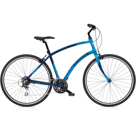 Fitness Enjoy the versatility of 24 gear combinations offered by the Electra Verse 24D bike and settle in for a comfortable ride that will take you anywhere in total style. - $410.93