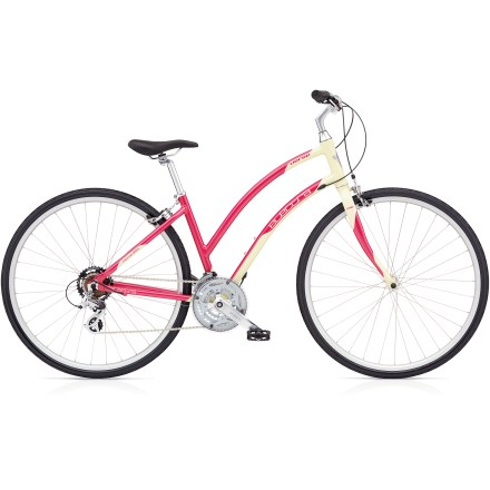 Fitness Great for touring or commuting, the Electra Verse 21D women's bike brings effortless style and an irrepressible sense of fun to every ride. - $499.00