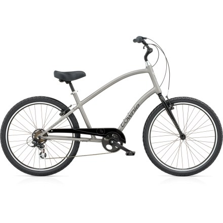 Fitness Feel completely at ease while riding the Electra Townie 7D bike. The relaxed and upright pedaling position lets you stay comfortable and allows you to go just 1 more mile. And then another .... - $479.00