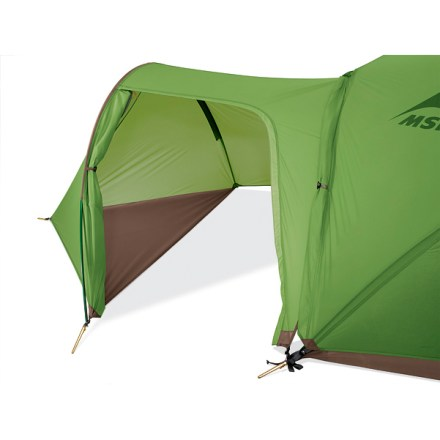 Camp and Hike The MSR Gear Shed vestibule adds increased livability to your Hubba or Hubba Hubba tent, sold separately. - $84.93
