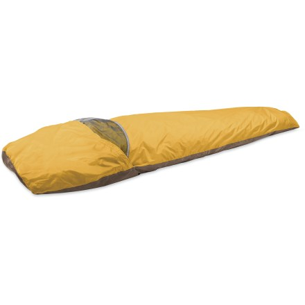 Camp and Hike The AC-Bivy from MSR is a super lightweight waterproof, breathable bivy that provides an all-condition refuge. Minimalists can have full-on, durable protection for a mere pound! - $149.93