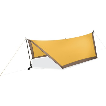 Camp and Hike The E-Wing shelter is the most compact and lightest weight shelter from MSR. It offers ample coverage and protection for ounce-counting minimalists. - $129.93