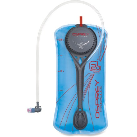 Fitness The 2-liter Osprey Hydraulics(TM) reservoir conforms to your back's shape even when full, resulting in a precise, stable and comfortable fit in your backpack. - $34.00