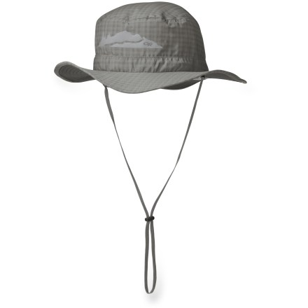 The Outdoor Research Helios sun hat shades the eyes, face and neck with an ample brim, and provides UPF 30 sun protection. - $30.00