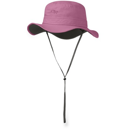 The Outdoor Research Sentinel girls' hat protects youngsters from bug-borne misery and damaging sun exposure. - $24.93