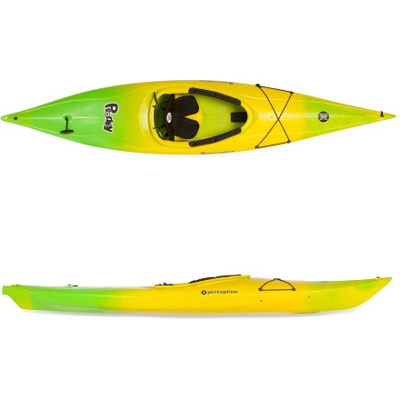 Kayak and Canoe Designed for small adults and children, the Perception Prodigy XS combines recreational performance with feature-rich value. - $399.00