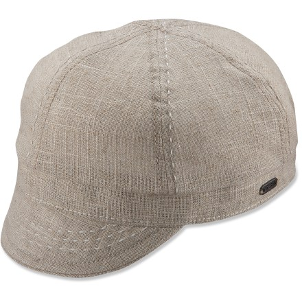 Sports Complete your casual look with the cute and stylish Pistil Chloe hat. Features a linen/cotton exterior with contrasting stitch details. Elastic in back stretches to accommodate most head sizes. - $15.83