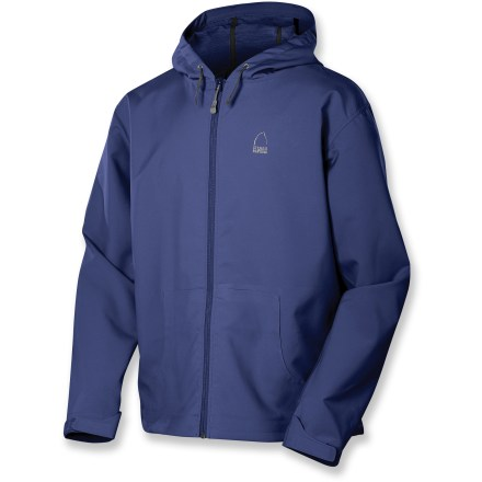 The Sierra Designs Campfire hoodie jacket is perfect for hikes, days at the crag, or just hanging around town. - $34.73