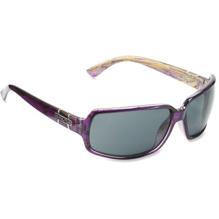 Camp and Hike The SunCloud Poptown polarized sunglasses offers a face-flattering shape and fit. You'll be wishing for sunny days just so you can wear them! - $49.95