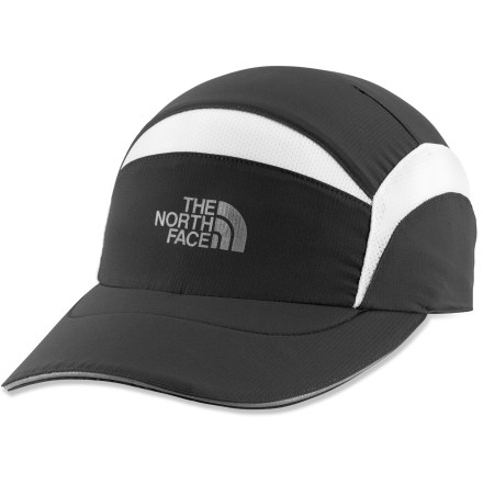 Fitness The North Face Better Than Naked hat has been updated to weigh even less and perform even better than the previous version. Ultralight polyester hat has mesh vents to keep your head cool while you run on hot days. With a UPF 50+ rating, fabric provides excellent protection against harmful ultraviolet rays. Durable Water Repellent finish causes water to bead up and roll off when you're caught in a light rain shower. Terry sweatband wicks moisture off of your brow. Lightweight, dual-density foam brim. Reflective hits increase visibility in low light. The North Face Better Than Naked hat has a stretchy fit that accommodates most head sizes. - $18.93