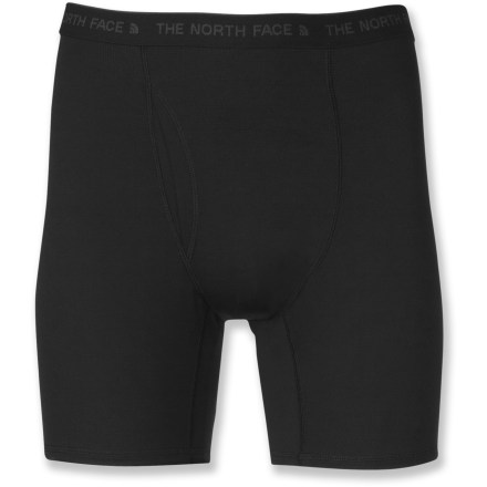 Use The North Face Light boxer briefs to boost your warmth during adventures in cool weather. - $16.83