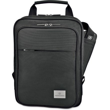 Entertainment You can stay connected no matter where your day takes you with the Analyst Tablet shoulder bag by Victorinox. This sleek bag is designed to hold an iPad or Kindle. - $71.93