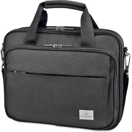 Entertainment The Victorinox Specialist Laptop Brief is great for busy professionals. It protects both a small laptop and an iPad(R) or Kindle. - $74.93