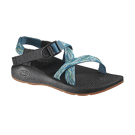 Surf Free Shipping. Chaco Women's Z/1 Yampa Sandal FEATURES of the Chaco Women's Z/1 Yampa Sandal Upper: Polyester jacquard webbing Upper wraps around the foot and through the midsole for the ultimate customized fit Adjustable and durable high tensile webbing heel risers Custom injection molded ladder lock for a secure hold Midsole: Durable, women's specific LUVSEAT polyurethane footbed with slip resistant classic diamond pattern design Outsole: Non-marking Yampa Outsole with Vibram TC-1 rubber and 2-3mm lugs Light weight, Outsole for versatility - $104.95