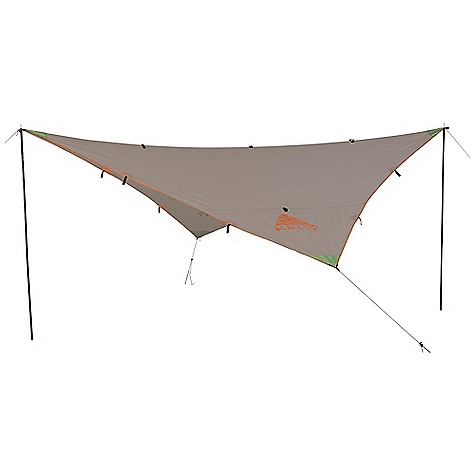Free Shipping. Noah's Tarp 16 DECENT FEATURES of the Kelty Noah's Tarp 16 Taped seams Guyout points The SPECS Seasons: 3 Fly: 75D Polyester 450 mm Minimum Weight: 3 lbs 10 oz / 1.64 kg Packaged Weight: 3 lbs 15 oz / 1.79 kg Floor Area: 256 square feet / 23.8 square meter Dimension: 192 x 192in. / 488 x 488 cm Packed Dimension: 3 x 12in. / 8 x 30 cm - $99.95
