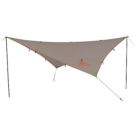 Free Shipping. Noah's Tarp 9 DECENT FEATURES of the Kelty Noah's Tarp 9 Taped seams Guyout points The SPECS Seasons: 3 Fly: 75D Polyester 450 mm Minimum Weight: 1 lb 78 oz / 0.68 kg Packaged Weight: 1 lb 12 oz / 0.79 kg Floor Area: 81 square feet / 7.5 square meter Dimension: 108 x 108in. / 274 x 274 cm Packed Dimension: 4 x 10in. / 10 x 25 cm - $59.95